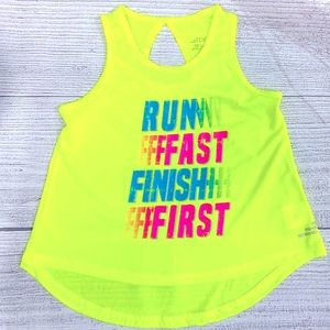 🔥NEW Girls bcg Sports Running Themed Tank